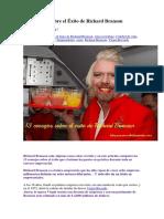 13 Consejos Sobre El Éxito de Richard Branson