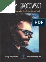 Jerzy Grotowski. Miradas Desde Latinoame