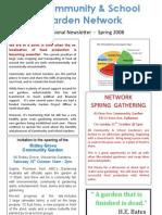 Newsletter - South Australia Community Garden Network - Spring 2008