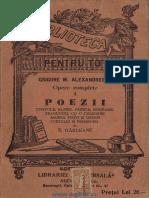 Grigore Alexandrescu Poezii, Fabule