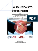 Pinoy Solutions to Corruption by Briones, Reyes, Domingo