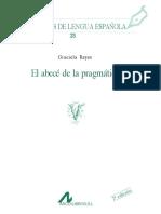 206335239 REYES 2007 El ABC de La Pragmatica