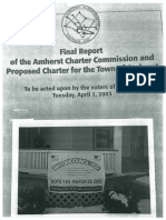Amherst Charter Chatter 2005