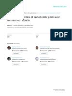 Flexural Properties of Endodontic Posts