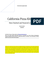 Word Note California Pizza Kitchen