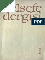 Felsefe Dergisi - 1972, 1