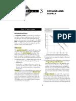 Guía de Estudio 3 - Oferta y Demanda
