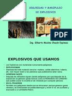 Seguridad y Manipuleo de Explosivos