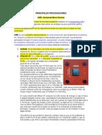 Procesos y procesadores