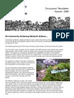 Newsletter - South Australia Community Garden Network - Autumn 2006