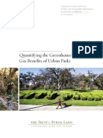 Quantifying the Greenhouse Gas Benefits of Urban Parks