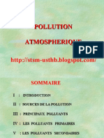 La Pollution Atmosphérique
