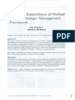 The False Expectations of Michael Porter's Strategic Management Framework / Omar Aktouf