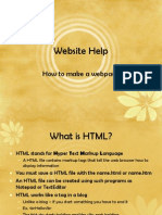 HTML Power Point