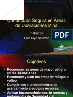 Curso Conduccion Segura Areas Operaciones Mina