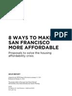 SPUR 8 Ways to Make San Francisco More Affordable
