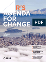 SPUR's Agenda for Change 2016
