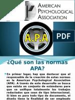 Que son las normas APA
