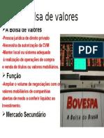 Bolsa de Valores Trabalho Direito Empresarial