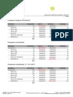 TIEMPO - Programa de Contratos DOCSA