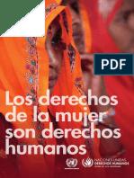 HR-PUB-14-2_SP Los Derechos de La Mujer Son DDHH