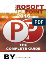 Microsoft Powerpoint 2016 - Stewart Melart