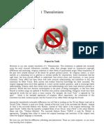 1 Thessalonians Bible Translation