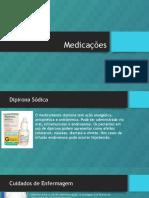 Medicações- Estudo de Caso