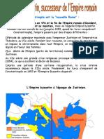 l'Empire Bizantin -PPt