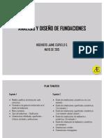 Analisis y Diseño de Fundaciones 15052015