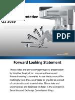 ISRG_Investor Presentation 021016