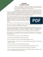 Biografia Alain Touraine
