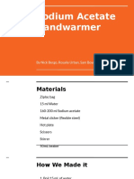 sodium acetate handwarmer