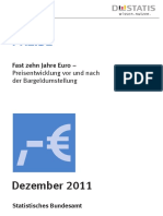 Fast 10 Jahre Euro