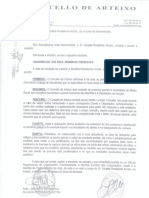 Resolución Arteixo Consorcio de as Mariñas