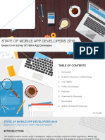 InMobi State of Mobile App Developers 2016