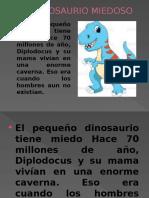 Un Dinosaurio Miedoso Diapositivas