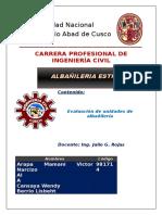 Evaluacion de unidades de albañileria UNSAAC.docx