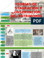 2. Teorías de Restauración y Conservación Del Patrimonio