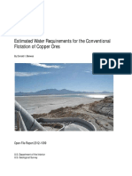 Water Flotation Copper Ores Ofr2012-1089