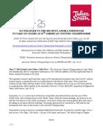 annika press release 203 5-27