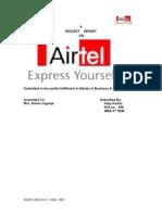 Airtel Advertising Affectiveness Vjmonga