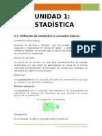 Curso Probabilidad y Estadistica Universidad