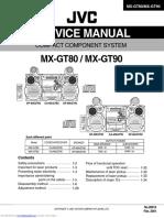 MX-GT80 / MX-GT90 Service Manual