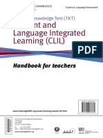 Clil Handbook Subject Specific Vocabulary