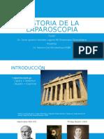 Historia de La Laparoscopia