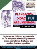 Formatos Planeacion Argumentada 2015 Nuevo