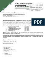 Surat Minta Rm 5000 Aktiviti Tahun 6 - LIAW