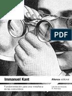 Fundamentacion Para Una Metafisica de Las Costumbres - Kant (Alianza Ed)