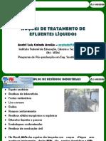 Palestra Tratamento de Efluentes Professor André Calado Araújo